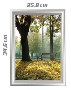 TUN0A4 Snap frame waterproof A4 21 x 30